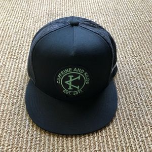 New Caffeine & Kilos SnapBack cap.